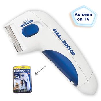 2019 Amazon Hot Sale Electric Flea Remover Pet Flea Lice Cleaner Comb AS Seen ON TV