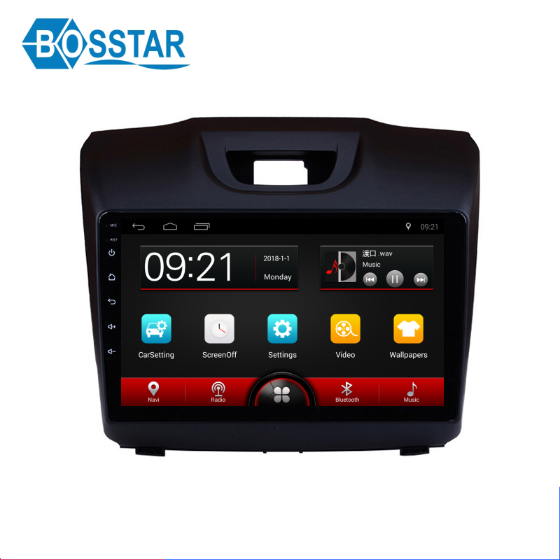 android carradio gps navigation system stereo for dmax with WiFi BT