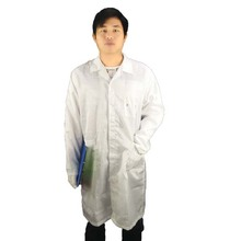 <strong>Safety</strong> Protective Clothing for Clean Room/ESD Cleanroom Garment/Antistatic Cleanroom Smock