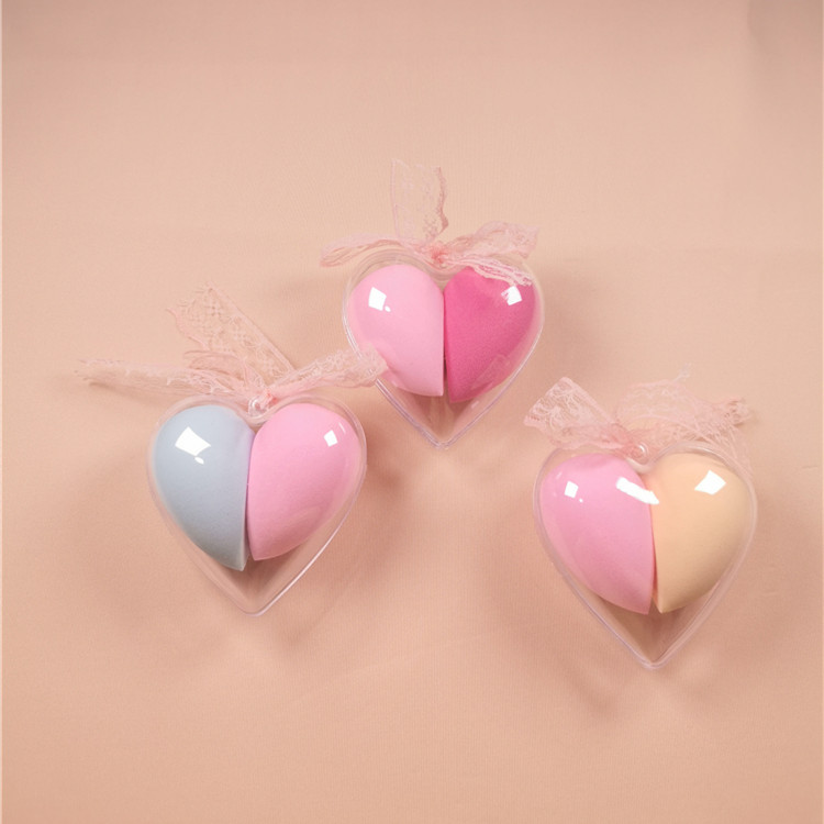 Low MOQ Customized Soft Beauty Tools Sponge Puff Cosmetics Facial Latex Free Makeup Blender Sponge Private Label