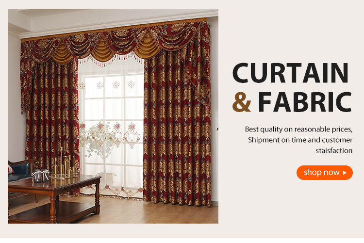 European Curtains for Living Room Luxury Tulle Curtains for the Bedroom  Window Curtain Treatment