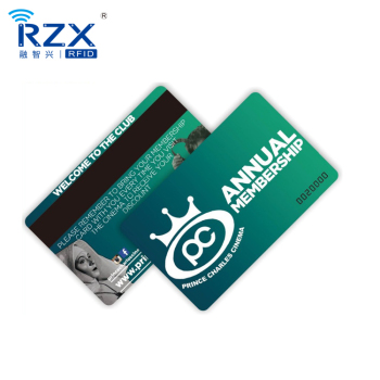 High Quality Printing Customized CR80 Credit Card Size HICO/LOCO PVC Gift Card Plastic Magnetic Strip Loyalty Card