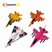 Toy mini plane diecast pull back toy fighter plane for wholesale