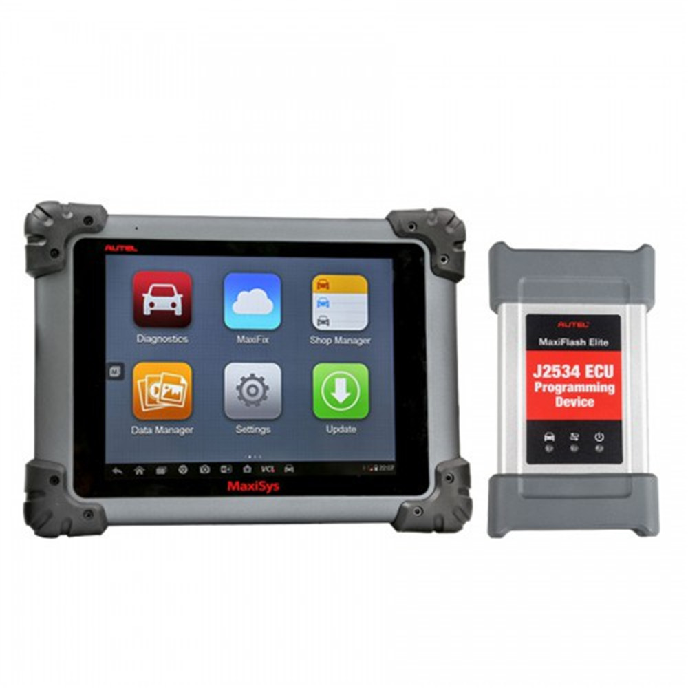 Original Autel MaxiSys Pro MS908SP Full System Diagnostic Tool with <strong>J2534</strong> Support ECU Coding 2 Years Free Update Online