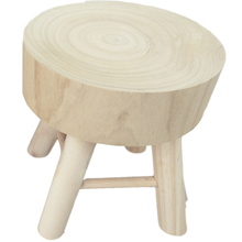 Round Ottoman Foot Stool Short Leg Children Size(Stump)