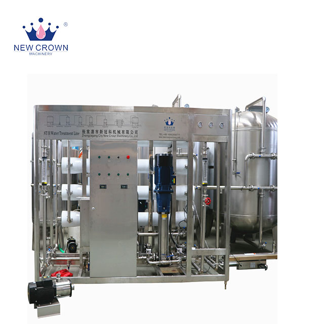 new model 6000 LPH industrial reverse osmosis <strong>water</strong> purification machine, complete bottle <strong>water</strong> production line