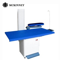 Laundry Shop Commercial New Vacuum Electric Clothes Ironing Board Ironing Table Mckinney