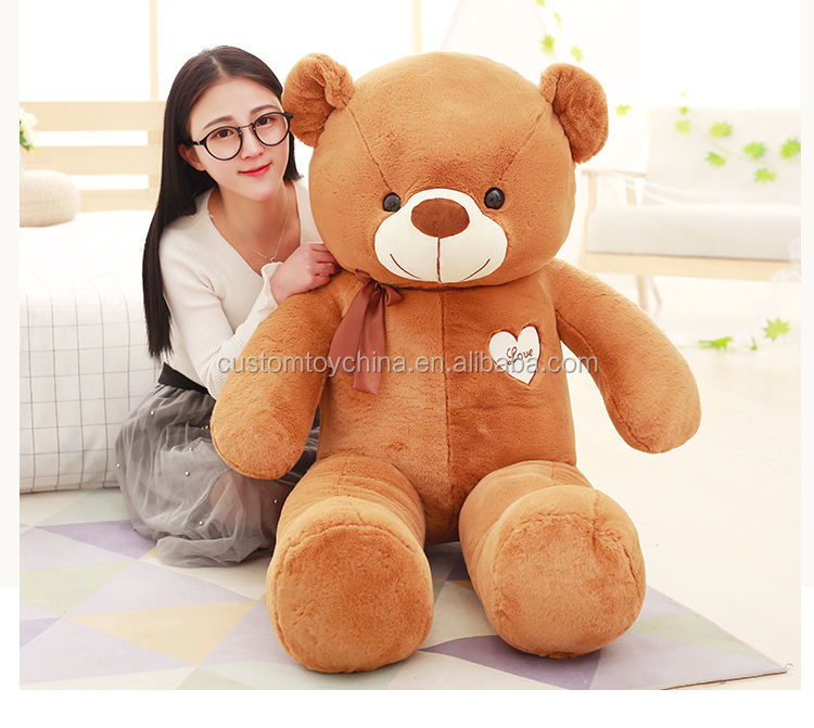 Wholesale Custom Soft Toys Giant Bear Baby Animal Plush Kids stuffed bear toys