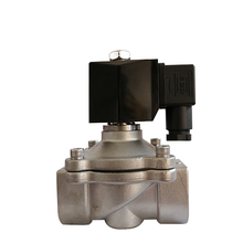 Commonly used dc normally closed high temperature <strong>stainless</strong> steel steam water solenoid valve