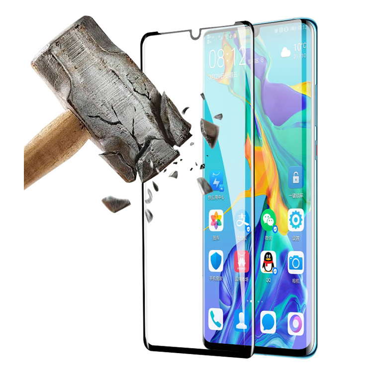 Full Glue Curved Glass For Huawei mate 30 pro Screen Protector For Huawei mate 20 pro Tempered Glass Film For Huawei p30 pro