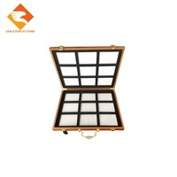 Ceramic tile display sample boxes table stone sample suitcases
