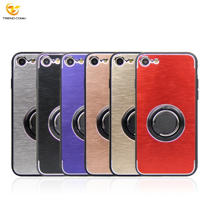 Magnetic Car Phone Holder Aluminum Phone Case Shockproof Case For IPhone 7/8