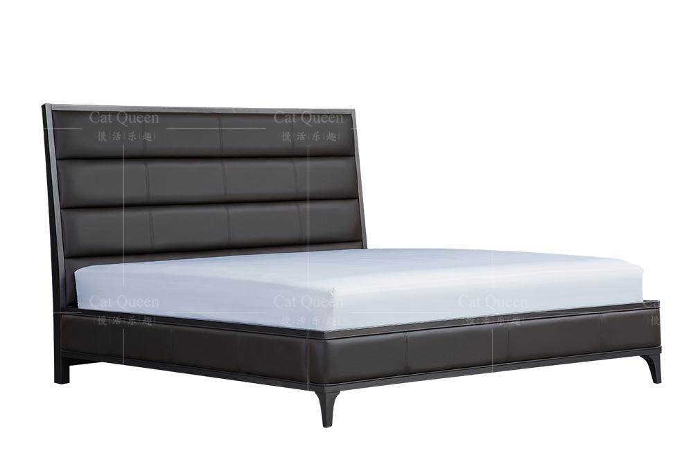 American style wood double bed designs/solid wood bed furniture