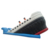 Outdoor Kids Play Inflatable Titanic Amusement Park Slide Playground Inflatable Pirate Ship Slides Bouncer