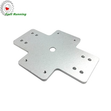 China top quality professional milling parts metal sheet panel aluminum front <strong>plate</strong>
