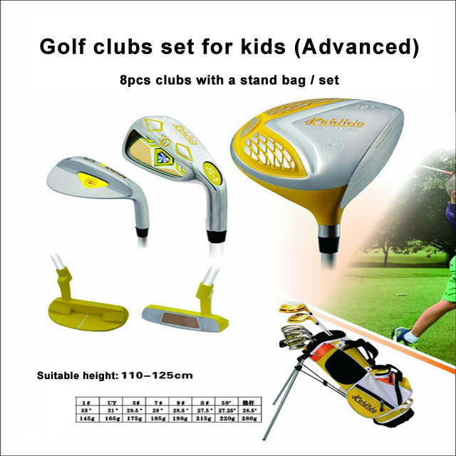 golf clubs set for kids soft and light clubs