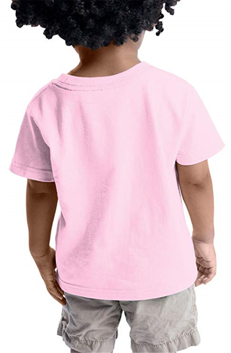Wholesale Blank 100% Cotton Children Short Sleeves Kids T Shirts With Custom Logo Plain T-shirts Kids Shirts