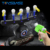 Indoor Game Glow Suspension Blow Ball Shooting Gun Toy