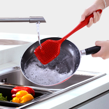 Long Handle Dish Scrubber <strong>Brushes</strong> Kitchen Cleaning Tool Silicone Pot <strong>Brush</strong>