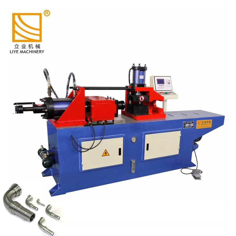 SG80NC pipe tube reducing end forming machine <strong>equipment</strong>