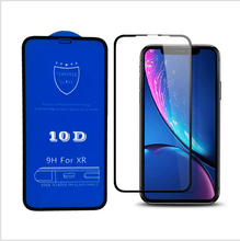 <strong>10D</strong> full glue full covered tempered glass for <strong>iphone</strong> X XR XS MAX 6 7 8 Plus