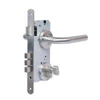High Security 5 Pin Euro Profile Mortise Handle Door Cylinder Lock