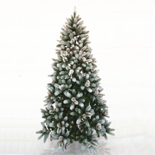 Miniature Falling Snow Small Artifical Flocked Artificial Christmas Tree