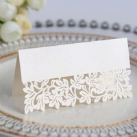 Hollow out Luxury Table Name Place Cards Wedding Christmas Birthday Party Invite Cards Decoration