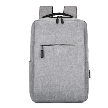 Travel Casual USB Charger Laptop Bag Smart USB Port Backpack