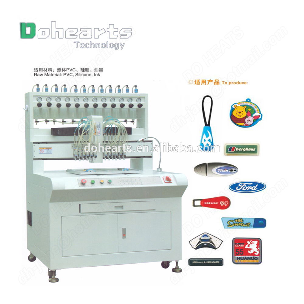 High Precision Automatic PVC Dispensing/Dripping/Filling Machine