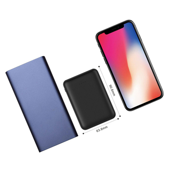 10000mAh Power Bank External Battery Pack Mini Portable Power Bank Dual USB Charger Powerbank For iPhone Xs