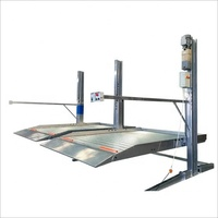 simple car lift parking double post hydraulic car lift