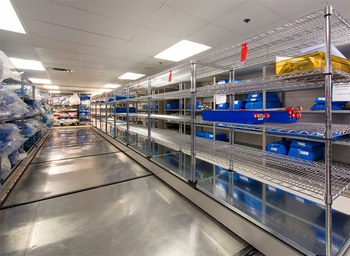 Advantages of wire shelving used in Medical environment