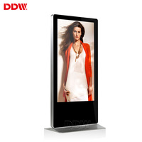 32 43 49 55 inch floor standing advertising digital signage and displays with camera hdmi bluetooth