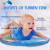 Oval Infant Tummy Time Inflatable Pat Pad Water Mat
