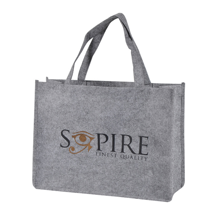 Fashion felt shopping bag&reusable shopping bag