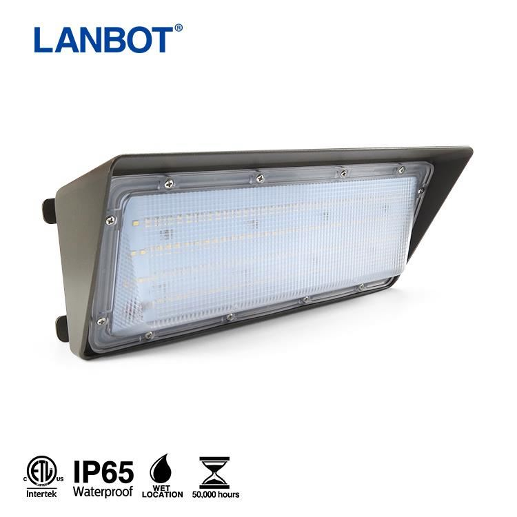LANBOT with ETL 100w LED Wall Pack Light for <strong>Factory</strong>