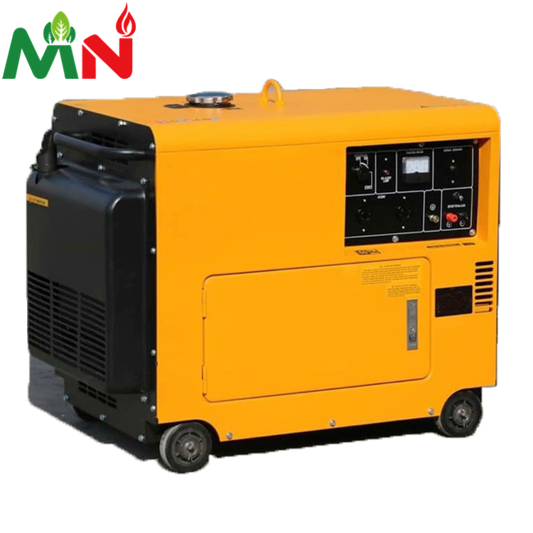 5.5kva Single Cylinder Air Cooled Small Silent <strong>Diesel</strong> Generator Portable Factory Price