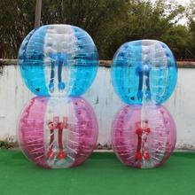 High quality PVC and TPU inflatable human bumper soccer bubble football ball