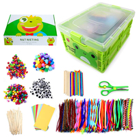MACTING 1212Pcs Arts and Crafts for Kids Ages 8-12 Pipe Cleaners for DIY Art Craft Supplies Kids Craft Kits
