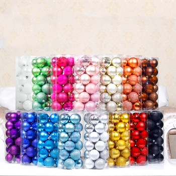 wholesale christmas decoration ball can customized christmas ball