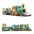 Commercial Custom Outdoor 5k Inflatable Obstacle Course Team Building Adults Large Amusement Park