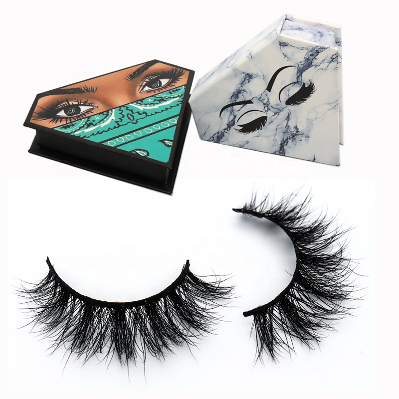 Custom Eyelash Packaging Box 5D 3D Mink Eyelashes Vendor
