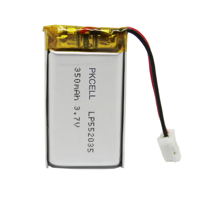 Small size of Lipo <strong>battery</strong> lp552035 350mah 3.7v for bluetooth