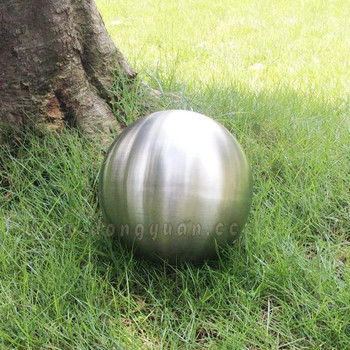 Stainless Steel Matt Ball, Brush Ball for Garden Lawn Decoration