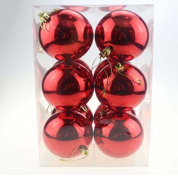 100 wholesale christmas ornaments ball Christmas decoration ball