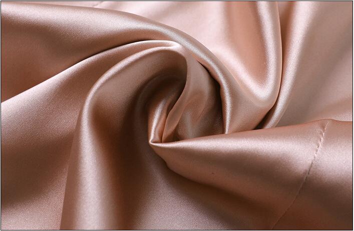 European fashion spaghetti strap women summer satin/silk midi dress summer pink black beige soft nightwear 2020