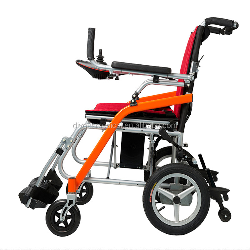 Lightweight aluminum Handicapped Foldable <strong>Power</strong> Electric Wheelchair