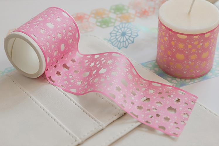 wholesale lace hollow retro tape for diary diy decorative