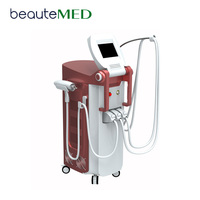 Beautemed 2500W Multifunction Rf Nd Yag Laser Ipl Shr Rf Diode Laser For Hair Removal